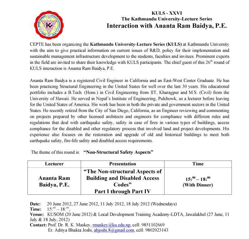 kathmandu sample assignment