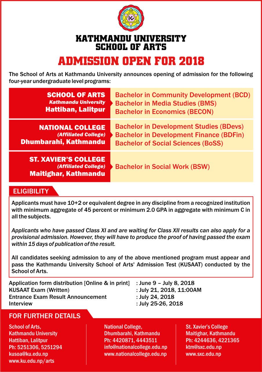 Kathmandu University News | June 2018